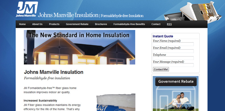 insulation website
