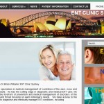 ENT Clinic Web Design