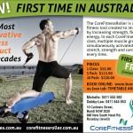 Core Fitness Advertising Design